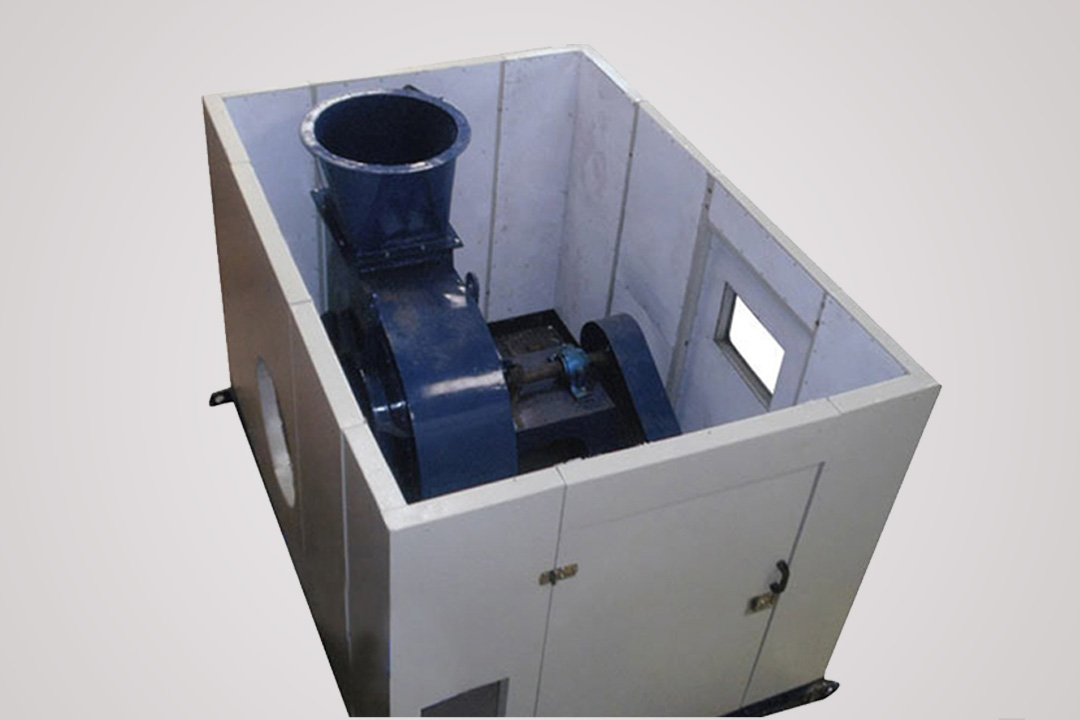 Sound Proof Enclosure For Blowers